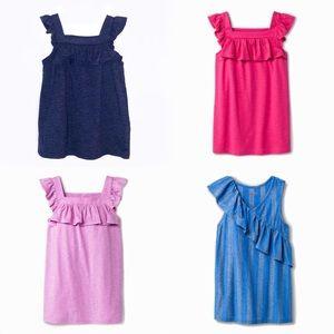 (Girls) Set of 4 Sleeveless Tops